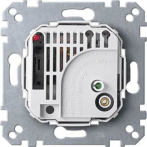 Raumtemperaturregler-Einsatz - mit Schalter, 24 V MERTEN 536304