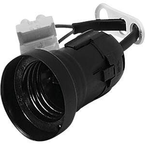 Lampenfassung, E27, Baupendel, schwarz VOSSLOH 537300