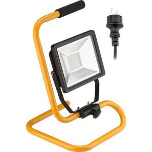 LED-Baustrahler, 30 W, 2500 lm, 6500 K, schwarz, IP65 GOOBAY 59006