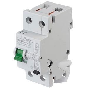 RCD/circuit breaker - 10mA, 1+N, B 10 KOPP 741010014