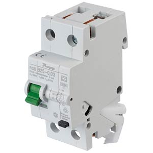RCD/circuit breaker - 30mA, 1+N, B 25 KOPP 742515015