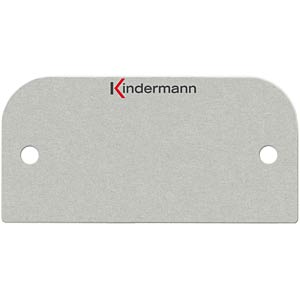 Blanking plate, KMAS connection system: KMAS 100 KINDERMANN 7441000400