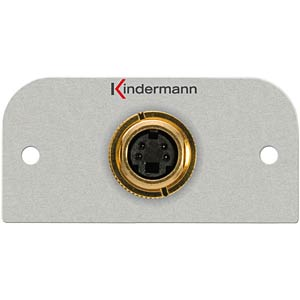 Video PC connector 4-pin MiniDIN-Bu.: KMAS 104 KINDERMANN 7441-404
