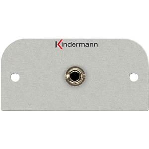 Audio, 3.5 mm jack socket: KMAS 111 KINDERMANN 7441-411