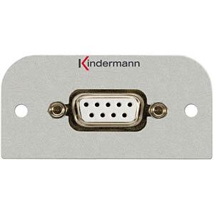 D-Sub socket 9-pin KINDERMANN 7441-420