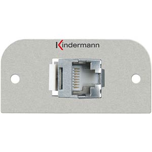 CAT6 (RJ45) connection panel KINDERMANN 7441-423