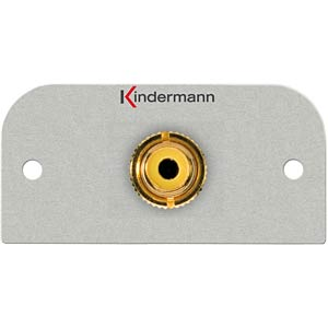 Video/PC connection, 1 x RCA socket, video KINDERMANN 7441000503