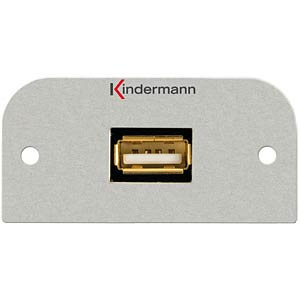 USB cable whip: KMAS 222 KINDERMANN 7441-522