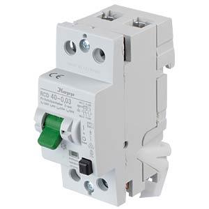 Fehlerstromschutz-Schalter, Typ A, 40 A, 30 mA KOPP 754028019