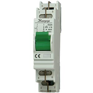 RSN built-in off switch, 1-pin/16 A KOPP 760111011