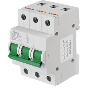 RS main switch - 3/100, 3-pole, 3 NO contacts KOPP 760139013