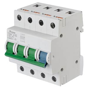 RS main switch - 4/100, 4-pole, 4 NO contacts KOPP 760149010