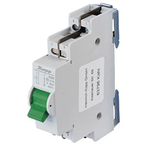 Wall-mounted control switch - 16 A, 2 NO contact KOPP 760221011