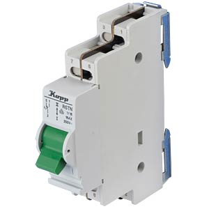 Control switch - 16A, 1-pole, 1 changeover switch KOPP 760311017