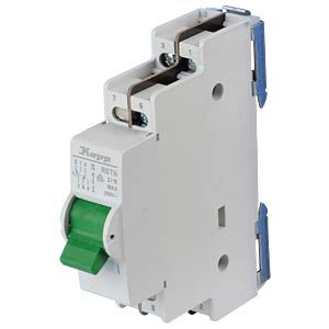 Control switch - 16 A, 2-pole, 2 changeover switch KOPP 760321014