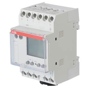 Digital Timer - 2 Changeover Contacts, 16 A, 2 Channel ABB D365