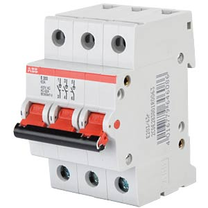Main switch, 3-pin ABB 737087