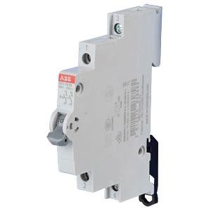 On/Off Switch - 0.5 TE, 2 NO Contact, 16 A ABB E211-16-20