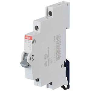 On/Off Switch - 0.5 TE, 1 NO Contact, 25 A ABB E211-25-10