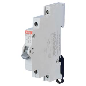 On/Off Switch - 0.5 TE, 2 NO Contact, 25 A ABB E211-25-20
