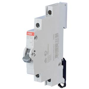 On/Off Switch - 0.5 TE, 1 NO Contact, 32 A ABB E211-32-10