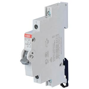 On/Off Switch - 0.5 TE, 2 NO Contact, 32 A ABB E211-32-20