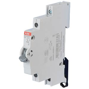 On/Off Switch - 0.5 TE, 1 Changeover Contact, 16 A ABB E213-16-001