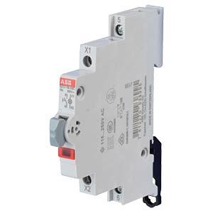 LED Illuminated Push-Button Switch - 1 NO Contact, 115 - 250 V A ABB E217-16-10C