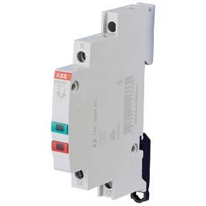 LED-Leuchtmelder - 2-fach, 115 - 250 V AC, grün+rot ABB E219-2CD