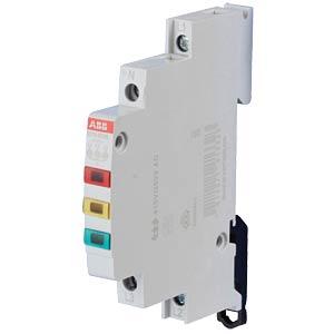 LED-Leuchtmelder - 3-fach, 230 - 415 V AC, rot + gelb + grün ABB E219-3CDE