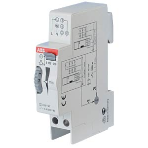Staircase Lighting Timer Switch - 230 V, 1-7 Min ABB E232-230