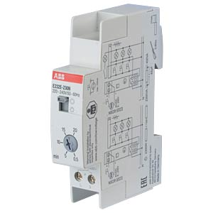 Staircase Lighting Timer Switch - 230 V, 0.5-20 Min ABB E232E-230N