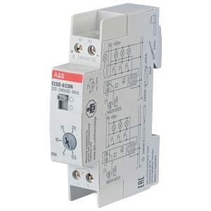 Treppenlichtzeitschalter - 8 V/230 V, 0,5-20 min ABB E232E-8/230N