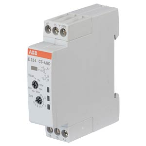 Time Lag Relay - 1 Changeover Contact, 6A, Off-Delay ABB E234CT-AHD.12