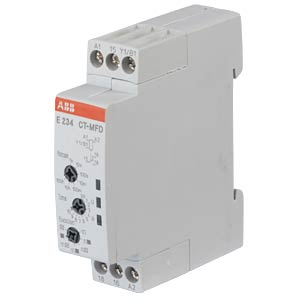 Time Lag Relay, 1 Changeover Contact, 6 A, Multifunction Relay ABB E234CT-MFD.12