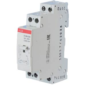 Surge Current Switch - AC/DC, 1 NO Contact + 1 NC Contact, 16 A ABB E256-230