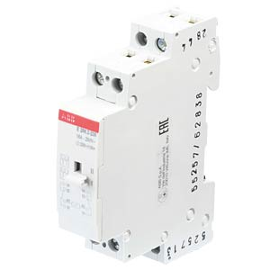 Surge current switch — AC/DC, 2 changeover contacts, 16 A ABB E256.2-230