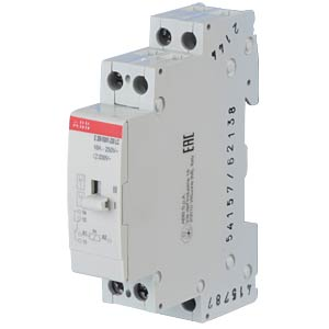 Installation Relay - 1 Changeover Contact, 230 V ABB E259R001-230-LC