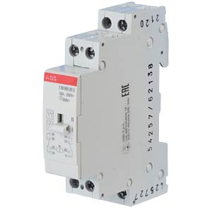 Installation Relay - 2 Changeover Contacts, 230 V ABB E259R002-230-LC