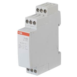 Surge Current Switch with Electronic Control System - 2 NO Conta ABB E262-230