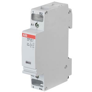 Installation Contactor - 1 NO Contacts + 1 NC Contacts, 12 V ABB ESB20-11-12V50HZ