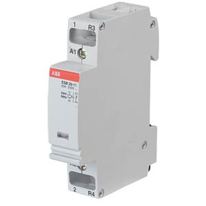 Installation Contactor - 1 NO Contacts + 1 NC Contacts, 230 V ABB ESB20-11-230V50HZ