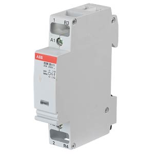 Installation Contactor - 1 NO Contacts + 1 NC Contacts, 24 V ABB ESB20-11-24V50HZ