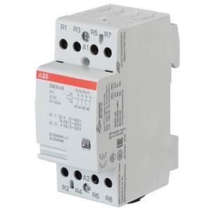 Installationsschütz - 4 Öffner, 24 V ABB ESB24-04-24AC/DC