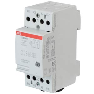 Installation Contactor - 1 NO Contacts + 3 NC Contacts, 220 - 24 ABB ESB24-13-230AC/DC