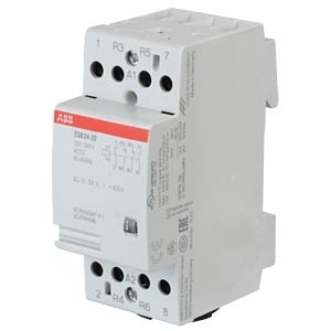 Installation Contactor - 2 NO Contacts + 2 NC Contacts, 220 - 24 ABB ESB24-22-230AC/DC