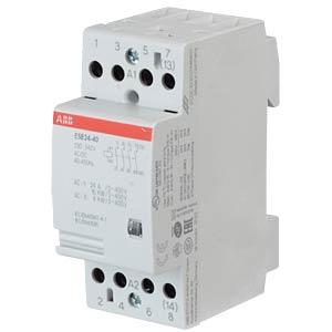 Installation Contactor - 2 NO Contacts + 2 NC Contacts, 230 V ABB ESB24-40-230AC/DC