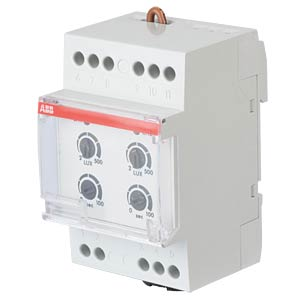 Twilight Switch - 2 Changeover Contacts, 10 A, with Light Sensor ABB TWS-2