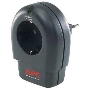 Überspannungsschutzadapter, 16 A, 230 V, schwarz APC P1T-GR