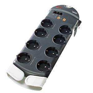 Überspannungsschutz-Steckdosenleiste, 8-fach, schwarz APC PL8V3-DE